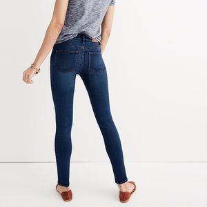 Madewell • The Roadtripper high rise skinny jeans
